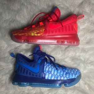 NWOT Kevin Durant Nike zoom fire&ice